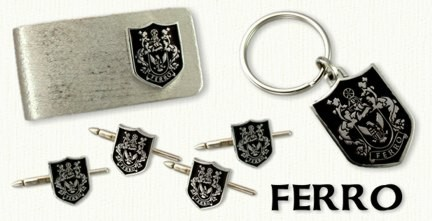 Ferro Family Crest Products